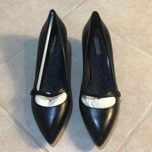Bottega Veneta Pointy Toe Kitten Heels, 37.5 NWOT